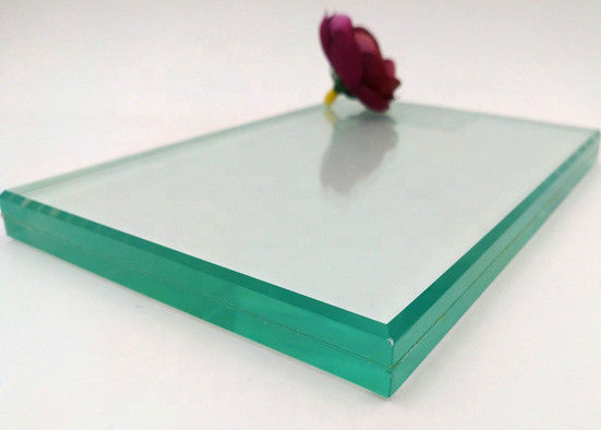 Popular Tempered Laminated Safety Glass 1.52PVB+4mm With Sound Insulating