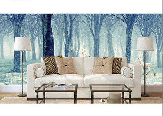 High Image Definition Digital Printing On Glass Scratch Resistant For Living Room